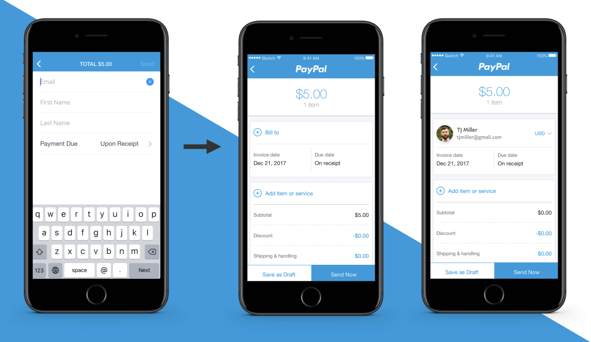 Reimagining Invoicing | PayPal Here