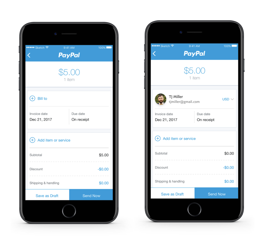 PayPal Invoicing